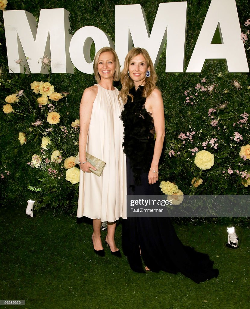 Alessandra Holowesko and Anne Dias attend the 2018 MoMA Party In The Garden at Museum of Modern Art on May 31, 2018 in New York City.