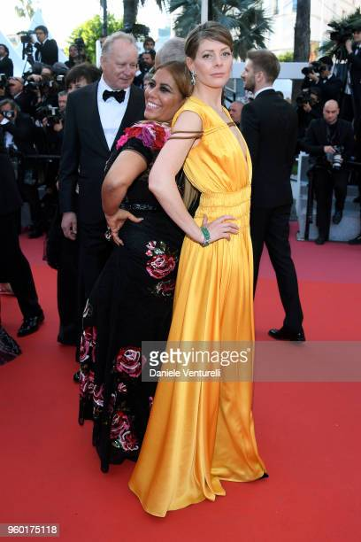 Alessandra Lo Savio and Amy Gilliam attend the Closing Ceremony and screening of 'The Man Who Killed Don Quixote' during the 71st annual Cannes Film...