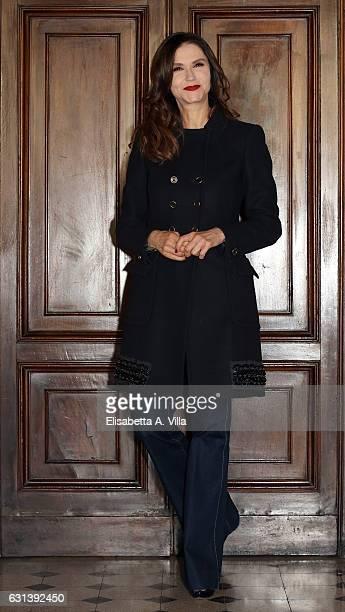 Alessandra Martines attends a photocall for 'Il Bello Delle Donne Alcuni Anni Dopo ' tv series at Palazzo Ferrajoli on January 10 2017 in Rome Italy