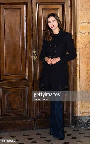 COLONNA ROMA ITALIA ITALY Alessandra Martines attends a photocall for 'Il Bello Delle Donne Alcuni Anni Dopo' tv series in Italy