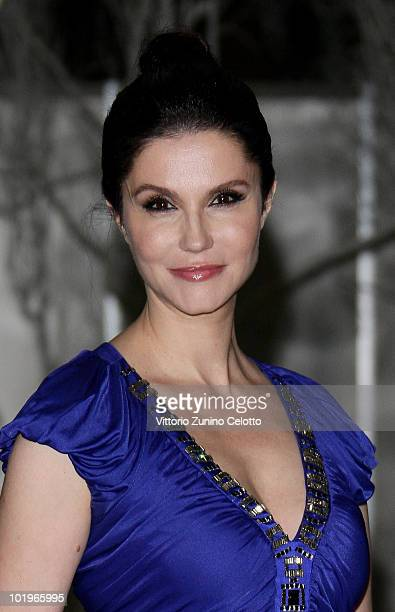 Alessandra Martines attends the 2010 Convivio held at Fiera Milano City on June 10 2010 in Milan Italy