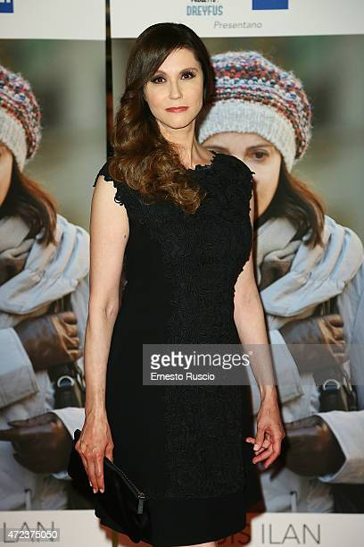 Alessandra Martines attends the 'Je Suis Ilan' premiere at Auditorium Della Conciliazione on May 6 2015 in Rome Italy