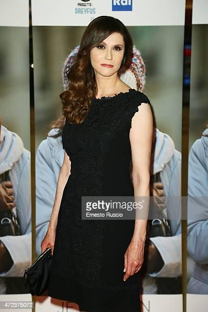 Alessandra Martines attends the 'Je Suis Ilan' premiere at Auditorium Della Conciliazione on May 6 2015 in Rome Italy