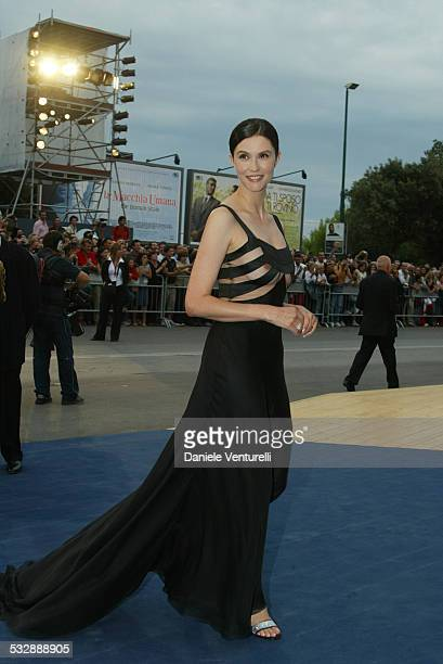Alessandra Martines during 2003 Venice Film Festival Closing Night Awards Ceremony at Palazzo del Cinema in Venice Lido Italy