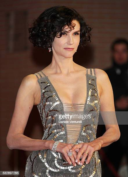 Alessandra Martinez attends the 'Into The Wild' premiere during Day 7 of the 2nd Rome Film Festival on October 24 2007 in Rome Italy