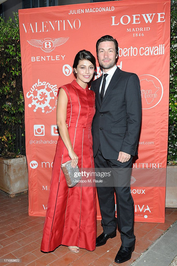 Alessandra Mastronardi and Liam McMahon attend Cash & Rocket On Tour Women for Women - Gala Dinner and Auction on June 16, 2013 in Rome, Italy.