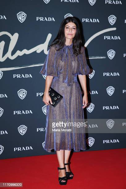 Alessandra Mastronardi attends a celebration as Pedro Almodovar is awarded the Golden Lion for lifetime achievement during the 76th Venice Film...