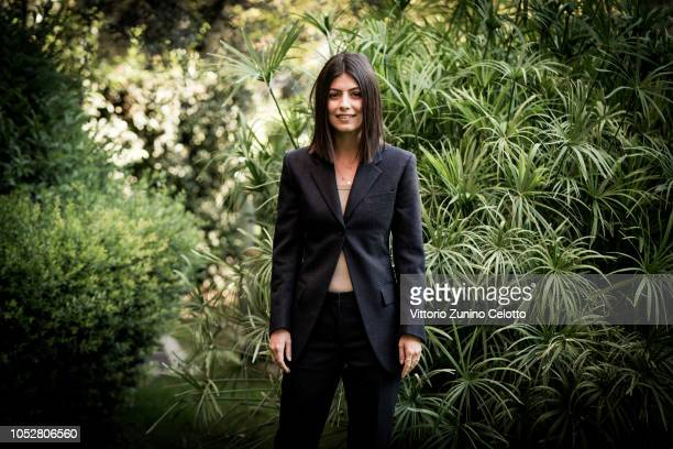 Alessandra Mastronardi attends L'Allieva 2 photocall at RAI Viale Mazzini on October 23 2018 in Rome Italy