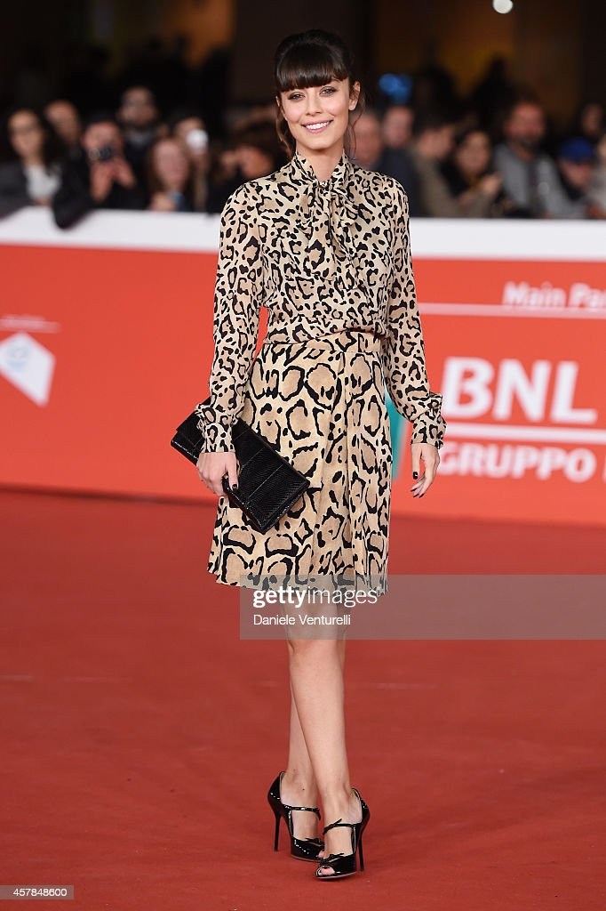 Alessandra Mastronardi attends the 'A Most Wanted Man' red carpet during the 9th Rome Film Festival at Auditorium Parco Della Musica on October 25, 2014 in Rome, Italy.