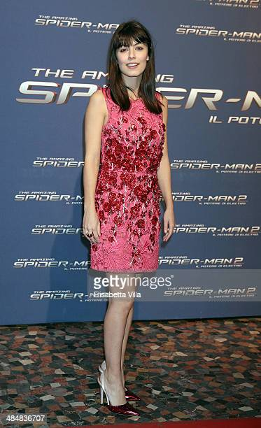 Alessandra Mastronardi attends 'The Amazing Spider-Man 2: Rise Of Electro' Rome Premiere at The Space Moderno Cinema on April 14, 2014 in Rome, Italy.