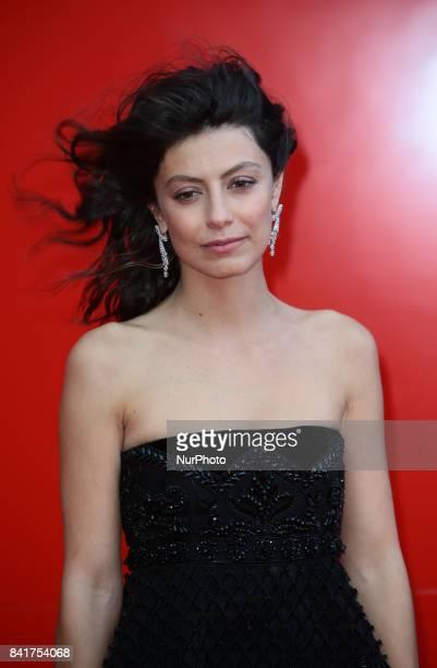 Alessandra Mastronardi attends the Franca Sozzanzi Award during the 74th Venice Film Festival in Venice Italy on September 1 2017 in Venice Italy on...