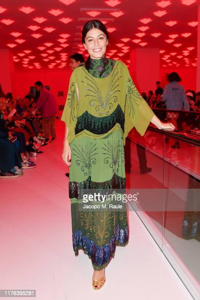 Alessandra Mastronardi attends the Gucci show during Milan Fashion Week Spring/Summer 2020 on September 22 2019 in Milan Italy