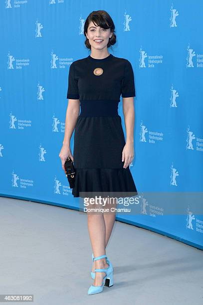 Alessandra Mastronardi attends the 'Life' photocall during the 65th Berlinale International Film Festival at Grand Hyatt Hotel on February 9 2015 in...