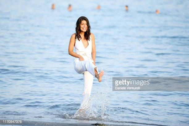 Alessandra Mastronardi attends the photocall of the Patroness of the 76th Venice Film Festival on August 27 2019 in Venice Italy
