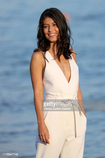 Alessandra Mastronardi attends the photocall of the Patroness of the 76th Venice Film Festival on August 27, 2019 in Venice, Italy.