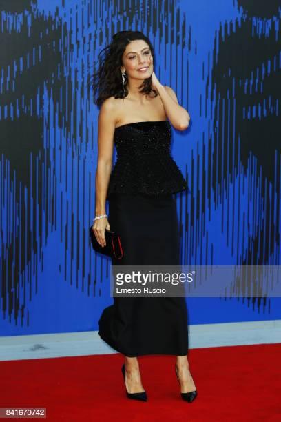 Alessandra Mastronardi attends the The 1st Franca Sozzani Award during the 74th Venice Film Festival at Sala Giardino on September 1 2017 in Venice...