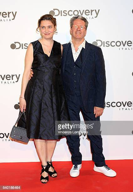Alessandra Mion Knam and Ernst Knam attend the Discovery Networks Upfront on June 14 2016 in Milan Italy