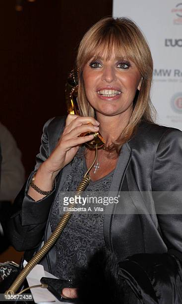 Alessandra Mussolini attends 'Carlo Ponti Tribute Le Musiche Dei Suoi Film' at Auditorium Parco Della Musica on December 12 2011 in Rome Italy