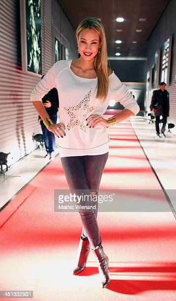Alessandra Pocher attends the RTL Telethon 2013 on November 22 2013 in Cologne Germany