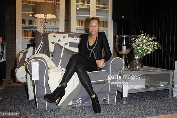 Alessandra Pocher Bei Der Eröffnung Des Riviera Maison Stores In Düsseldorf