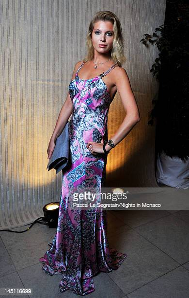 Alessandra Pozzi attends the 'Nights In Monaco' Gala Fundraiser Cocktail Reception equally benefiting The Prince Albert II of Monaco Foundation and...