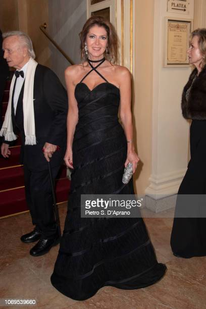 Alessandra Repini attends the 'Prima Alla Scala' at Teatro Alla Scala on December 7 2018 in Milan Italy