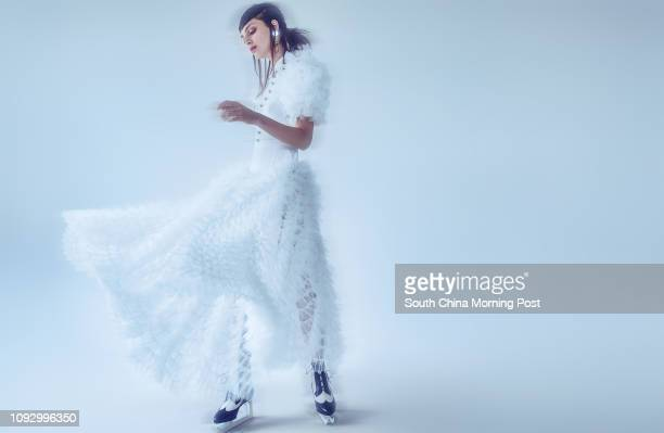 Alessandra Rich Ruffled Tulle and Cady Dress HKD $34200 Thom Browne BROGUE BOOT ICE SKATE HEEL HK$29680 Mikko Jewelry Rings Large HK$92 Small...