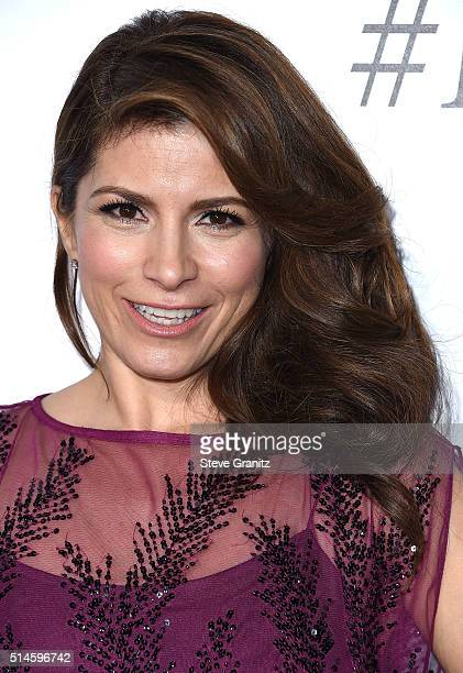 Alessandra Rosaldo arrives at the Premiere Of Columbia Pictures' 'Miracles From Heaven' at ArcLight Hollywood on March 9 2016 in Hollywood California