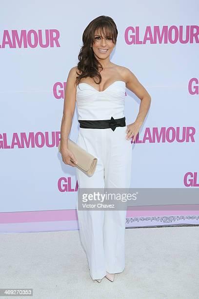 Alessandra Rosaldo attends the Glamour Magazine Mexico Beauty Awards 2013 at Museo Rufino Tamayo on February 13 2014 in Mexico City Mexico