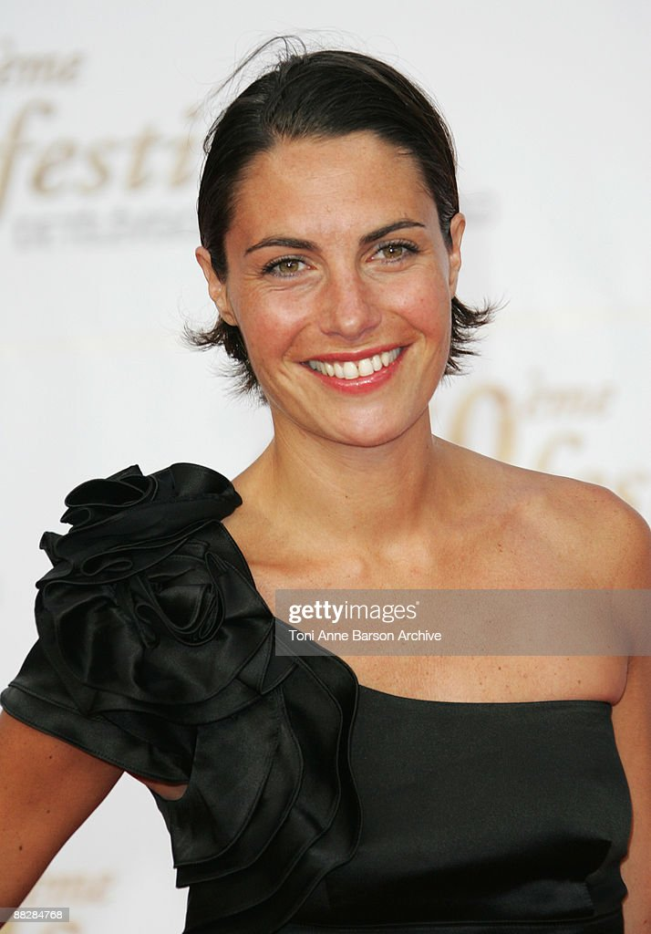 Alessandra Sublet Arrives At The 49th Monte Carlo Television Festival On  June 7 2009 In MonteCarlo