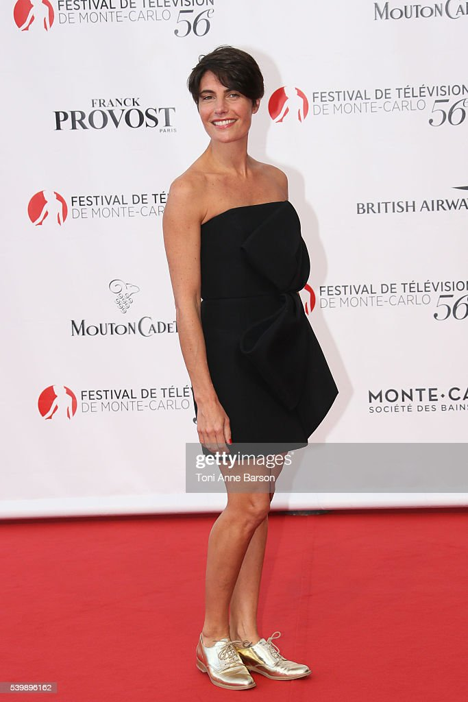 Lovely Alessandra Sublet Arrives At The 56th Monte Carlo TV Festival Opening  Ceremony At The Grimaldi Forum