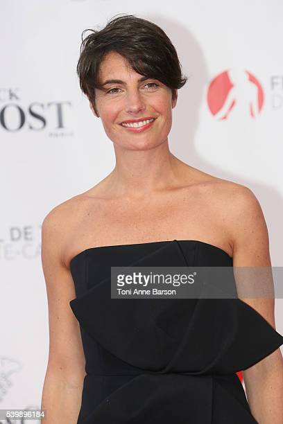 Alessandra Sublet arrives at the 56th Monte Carlo TV Festival Opening Ceremony at the Grimaldi Forum on June 12 2016 in MonteCarlo Monaco