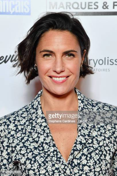 Alessandra Sublet attends the 26th Trophees Du Film Francais Photocall at Palais Brongniart on February 05 2019 in Paris France