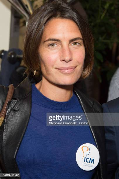 Alessandra Sublet attends the Aurel BGC Charity Benefit Day 2017 on September 11 2017 in Paris France