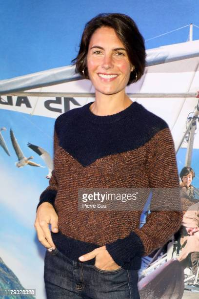 Alessandra Sublet attends the DonneMoi Des Ailes Premiere At Cinema UGC Normandie on October 06 2019 in Paris France