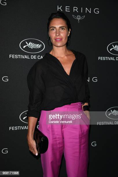 Alessandra Sublet attends the Women in Motion Awards Dinner presented by Kering and the 71th Cannes Film Festival at Place de la Castre on May 13...