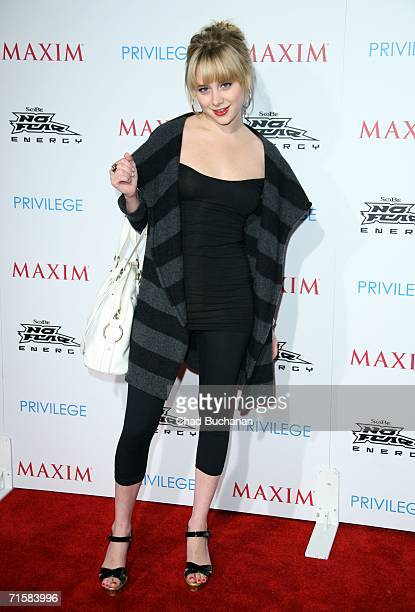 Alessandra Toreson attends the 'Celebrate Extreme Sports With Maxim Magazine' Party on August 3 2006 in Hollywood California