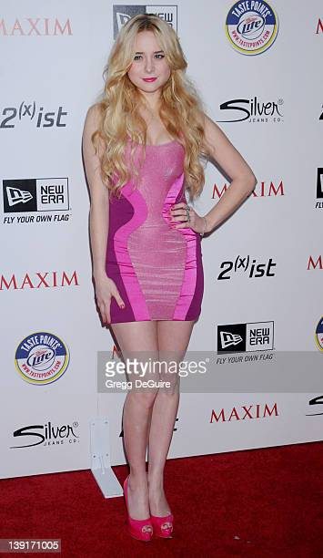 Alessandra Torresani arrives at the 2011 Maxim Hot 100 Party held at EDEN Nightclub on May 12 2011 in Hollywood California