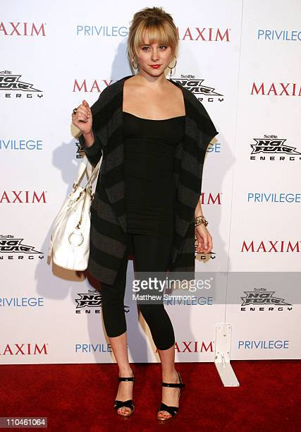 Alessandra Torresani during Celebrate Extreme Sports With Maxim Magazine at Privilage in Hollywood California United States