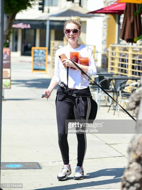 Alessandra Torresani is seen on March 24 2019 in Los Angeles California