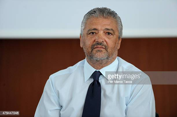 Alessandro Altobelli attends 'Il Calcio Malato' seminar on July 4 2015 in Novara Italy