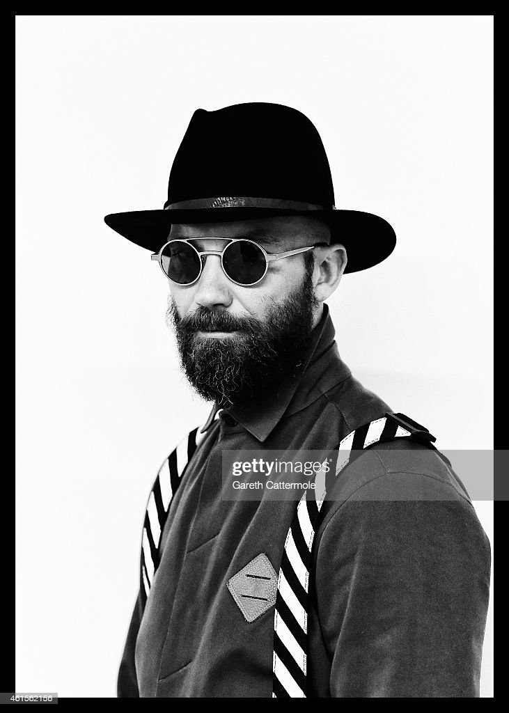 Alessandro Altomare is photographed during the London Collections: Men AW15 at on January 11, 2015 in London, England.