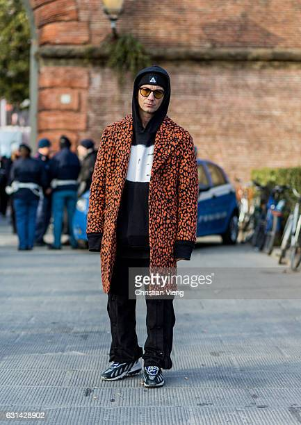Alessandro Altomare on January 10 2017 in Florence Italy