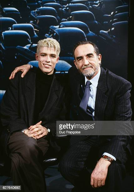 Alessandro and Vittorio Gassman father and son two generations of Italian actors