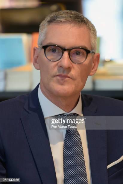 Alessandro Antonello CEO of FC Internazionale attends the 'La Fine del Calcio Italiano' Book Presentation on June 12 2018 in Milan Italy