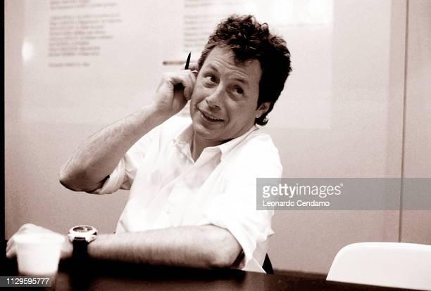 Alessandro Baricco Italian writer Torino Italy 28th July 2015