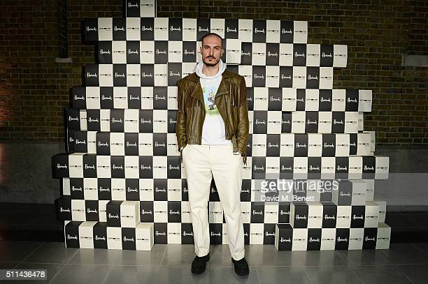 Alessandro Bava attends the Serpentine Future Contemporaries x Harrods Party 2016 at The Serpentine Sackler Gallery on February 20 2016 in London...