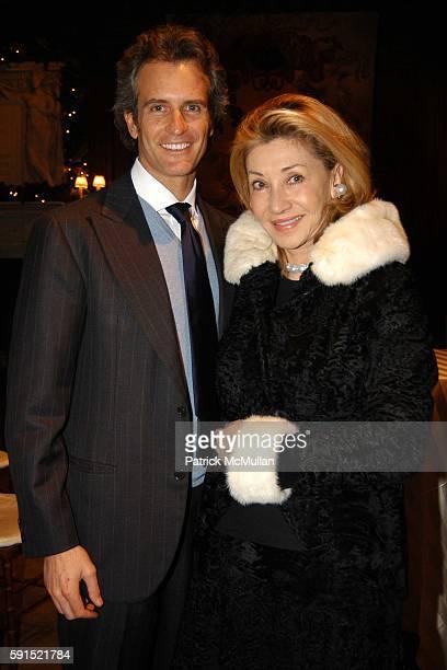Alessandro Benetton and Susan Gutfreund attend Architecture for Benetton a conversation between Tadao Ando and Alessandro Benetton at New York Public...
