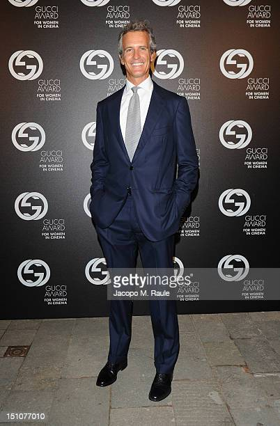 Alessandro Benetton attends the Gucci Award for Women in Cinema at The 69th Venice International Film Festival at Hotel Cipriani on August 31 2012 in...