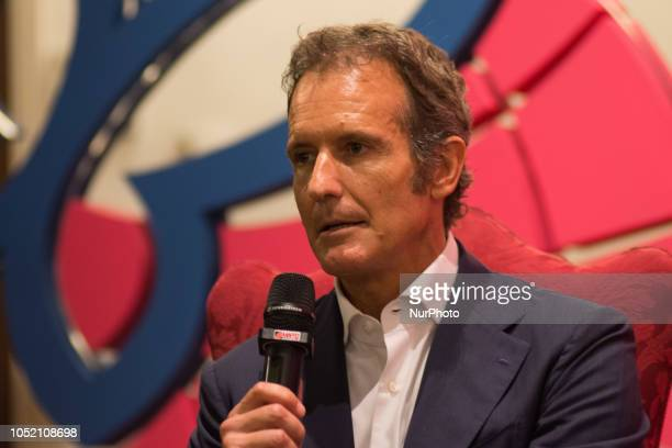 Alessandro Benetton attends the 'Il Festival dello Sport' in Trento Italy on 13 Otcober 2018 From 11 to 14 October 2018 the first edition of the...